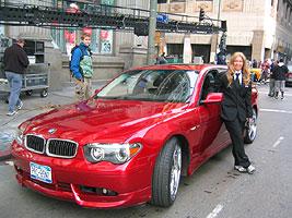 BMW 725i With 22 Rims